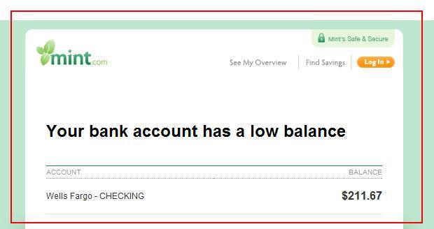 Lowbalance